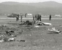 On June 26, 1972, a helicopter carrying three newspersons and one pilot crashed at the Capital City Airport in New Cumberland.