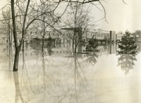 Farm Show Building During 1936 Flood