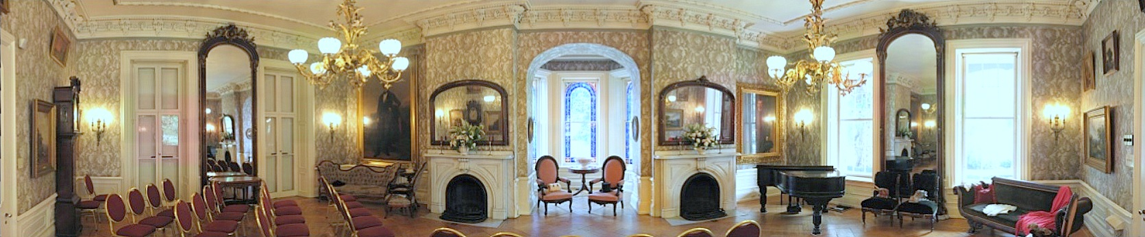 HARRIS-CAMERON MANSION PARLOR pano
