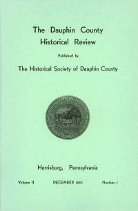 Dauphin County Historical Review, December 1953