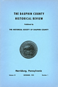 Dauphin County Historical Review, December 1955