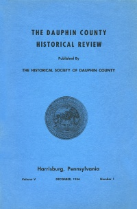 Dauphin County Historical Review, December 1956