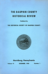 Dauphin County Historical Review, December 1958