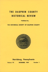 Dauphin County Historical Review, December 1959