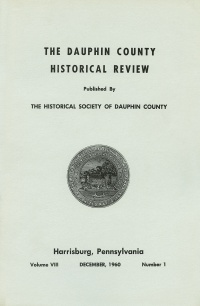 Dauphin County Historical Review, December 1960
