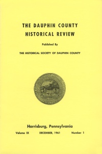 Dauphin County Historical Review, December 1961