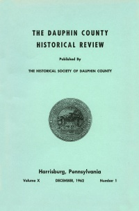 Dauphin County Historical Review, December 1962