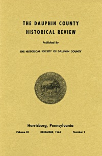 Dauphin County Historical Review, December 1963