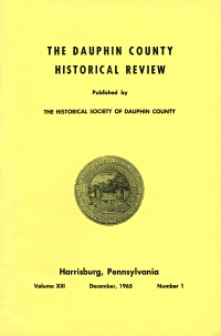 Dauphin County Historical Review, December 1965