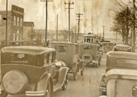 Farm Show Traffic on Cameron Street, 1930s