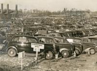 Farm Show Parking, 1940s