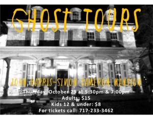 ghost tour flyer 2020